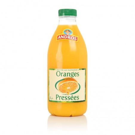 Orange pressée 100% pur jus 1L ANDROS