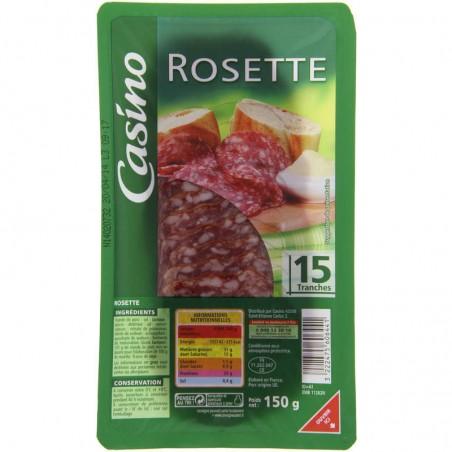 rosette 15 tranches 150g CASINO