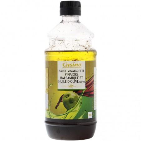 Sauce vinaigrette – vinaigre balsamique et huile d'olive (10%) 50cl CASINO