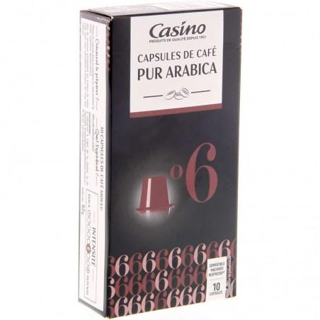 Casino capsules de café - Pur Arabica 52g CASINO