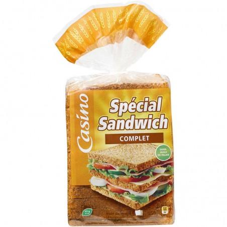 Spécial sandwich complet 550g CASINO