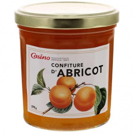 Confiture d'abricots 370g CASINO