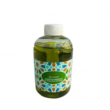 Gel Lavant Hydratant savon de marseille et extrait de feuilles d'olivier 300ml CASINO