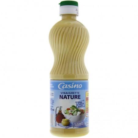 Vinaigrette nature allégée en matières grasses 500ml CASINO
