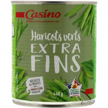 Haricots verts extra-fins 440g CASINO