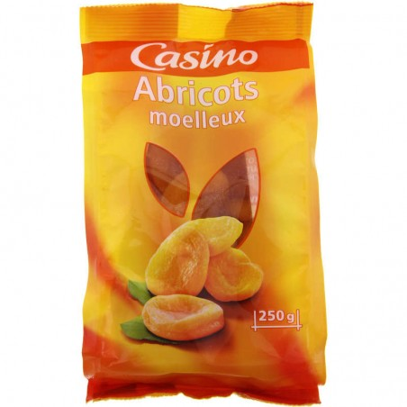 Abricots moelleux 250g CASINO