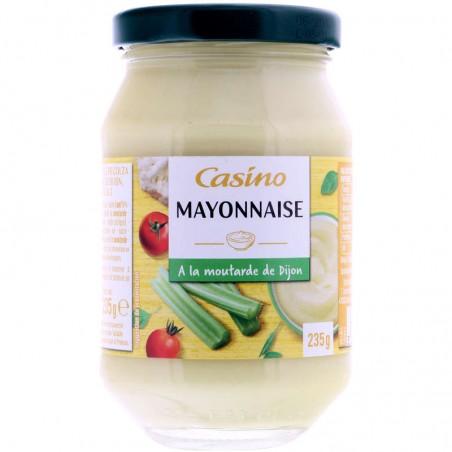 Mayonnaise à la moutarde de Dijon 235g CASINO