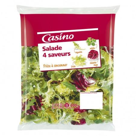 Salades aux 4 saveurs 200g 4G Casino 200g CASINO