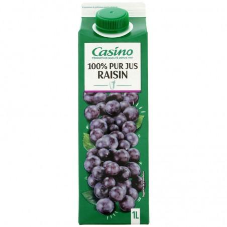 100 % Pur jus de raisin 1L CASINO