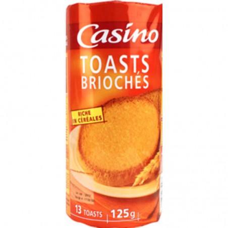 Toasts briochés 125g CASINO