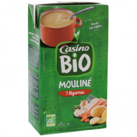 Mouliné de legumes variés Bio 1L CASINO BIO