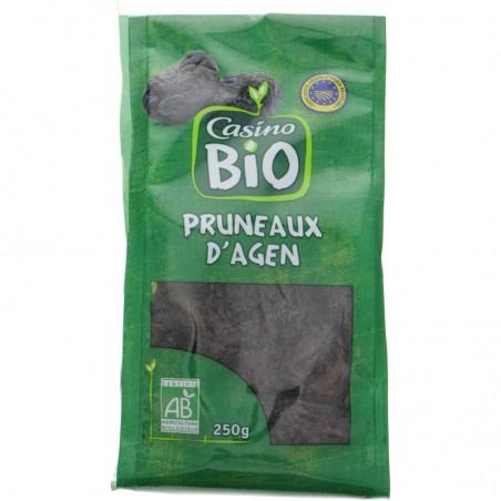 Pruneaux d'Agen Produit issu de l'agriculture biologique 250g CASINO BIO
