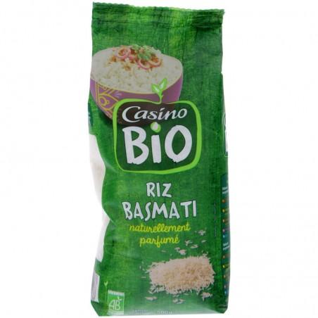 Riz Basmati naturellement parfumé bio 500g CASINO BIO