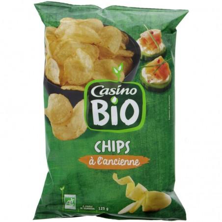 Chips à l'ancienne Bio 125g CASINO BIO