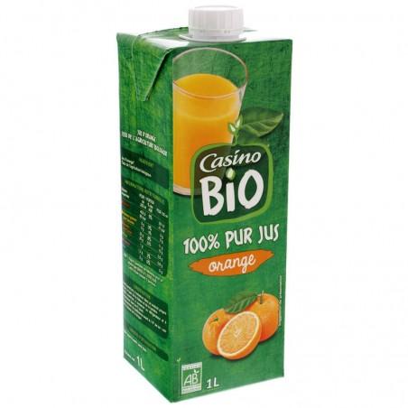 100% Pur jus d'orange Bio 1L CASINO BIO