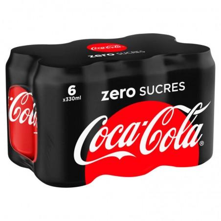Zéro 6x33cl COCA COLA