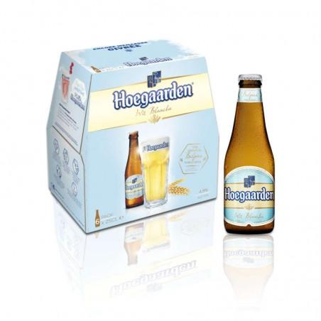 Bière blanche 4.9° 6x25cl HOEGAARDEN