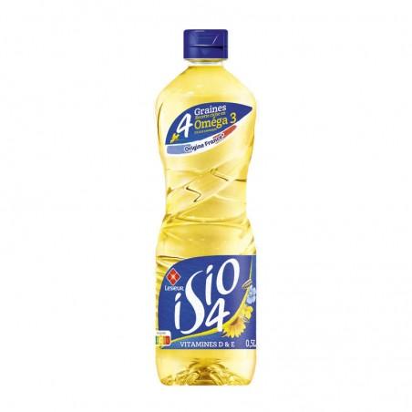 4 huiles végétales 50cl ISIO 4