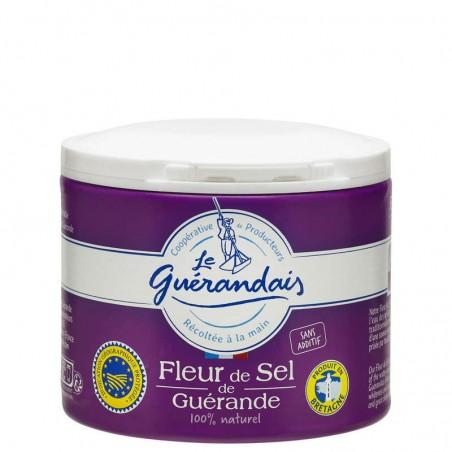 Fleur de sel de guérande 125g LE GUERANDAIS