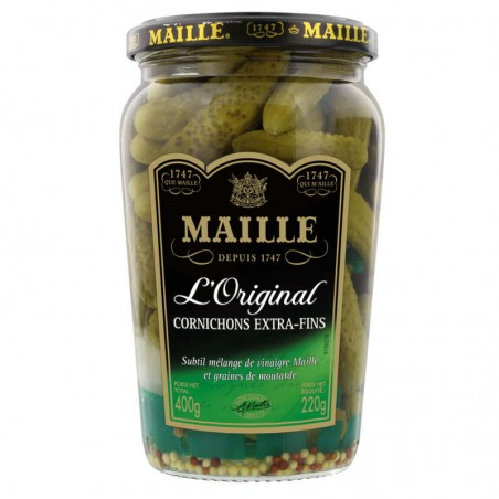 Cornichons extra fins 220g MAILLE