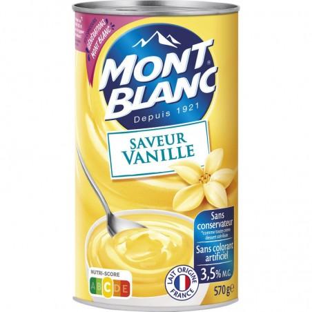 Crème Vanille 570g MONT BLANC