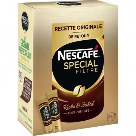 Nescafé - Spécial filtre - Café soluble - Sticks - 25 tasses 50g NESTLE