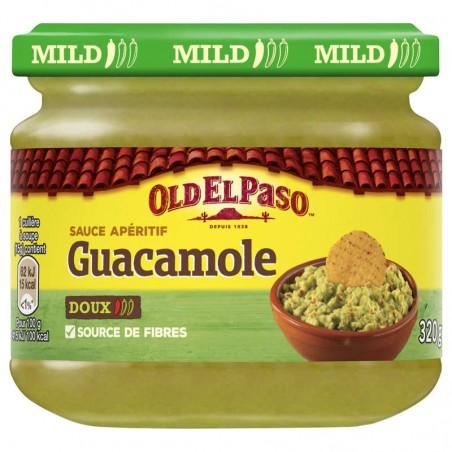 Sauce apéritif Guacamole doux 320g OLD EL PASO
