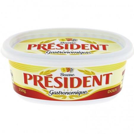 Beurre doux 250g PRESIDENT