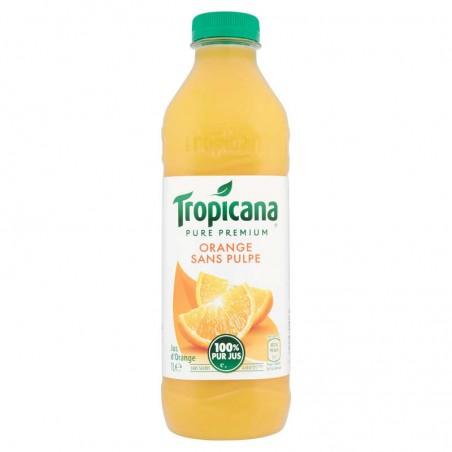 Jus d'orange sans pulpe 1L TROPICANA