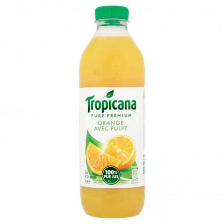 Jus d'orange pulpe 1L TROPICANA