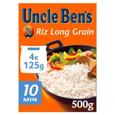 Riz sachet cuisson 10min 500g UNCLE BEN'S