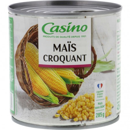 CASINO Maïs croquant 285g