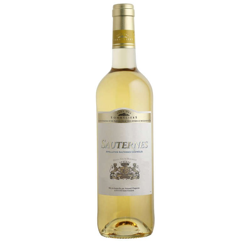 CLUB DES SOMMELIERS Sauternes Blanc 75cl